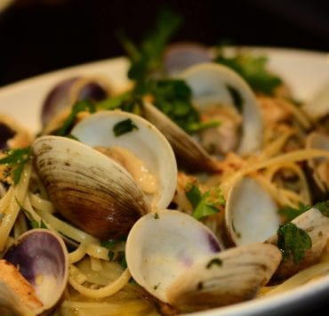 Cafe Martorano's Linguine & Clams