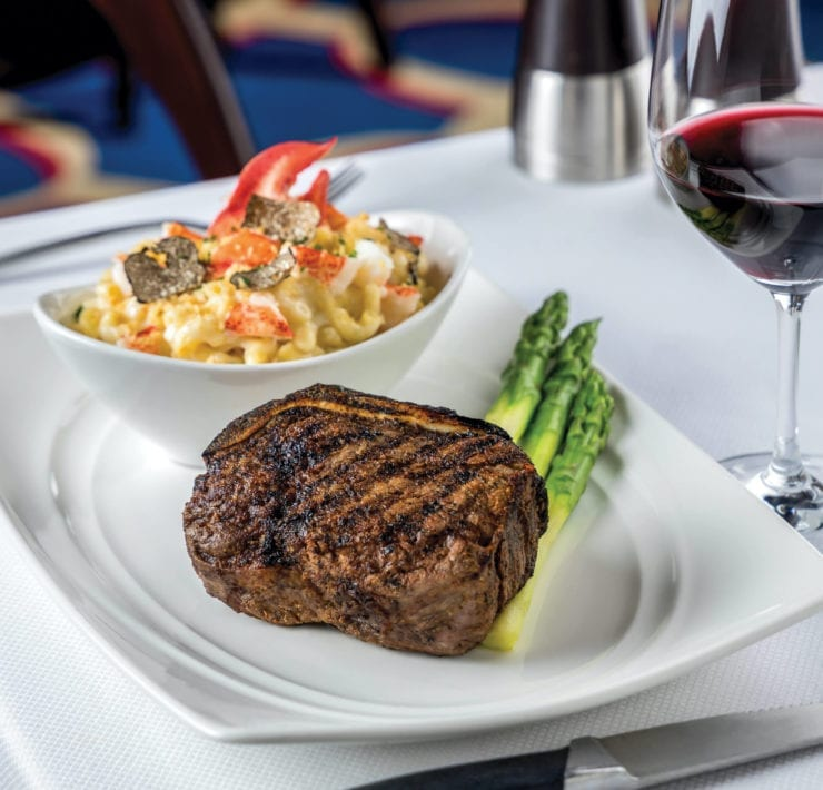 Flagler Steakhouse's Bone-In Filet Mignon