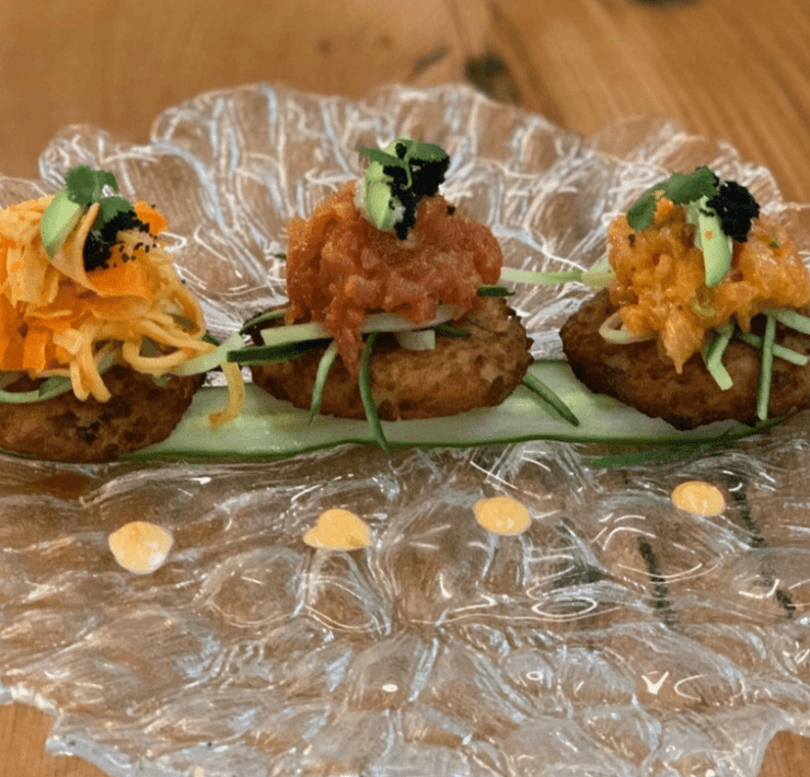 The Lincoln Eatery's Potato Latkes