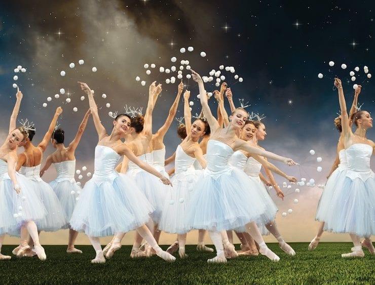 MCB Dancers in George Balanchine's The Nutcracker; choreography by George Balanchine