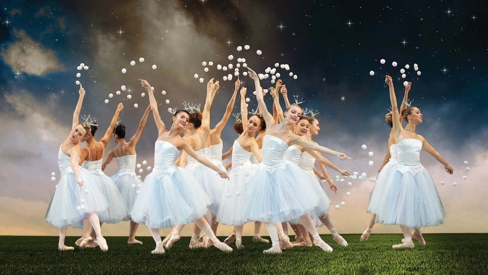 MCB Dancers in George Balanchine's The Nutcracker; choreography by George Balanchine