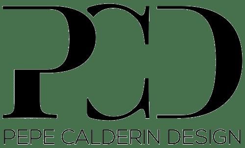 Pepe Calderin Design PCD logo