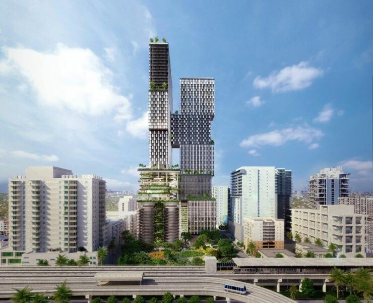 1 Southside Park (Courtesy JDS Development Group and SHoP Architects)