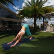 Yoga & Yolks at Shooters Waterfront
