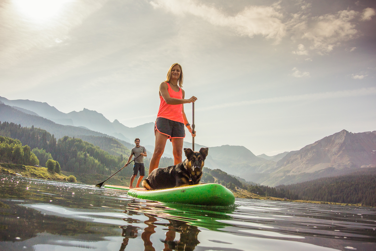 Stand-up paddleboarding in Telluride, CO (Courtesy Visit Telluride)