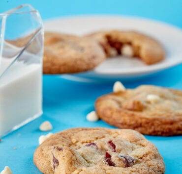 White Chocolate Guava Cookies