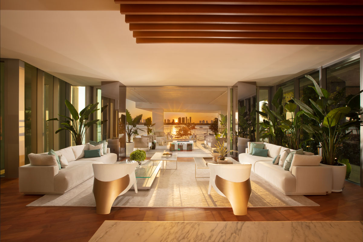 Monad Terrace Residence Designed by MORADA Haute Furniture Boutique (Photo by Alexia Fodere)