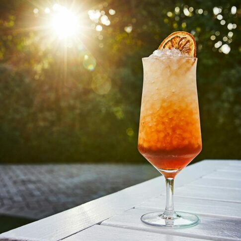 Negroni Frappe from Sweet beach, a summer pop-up at the Shelborne South Beach