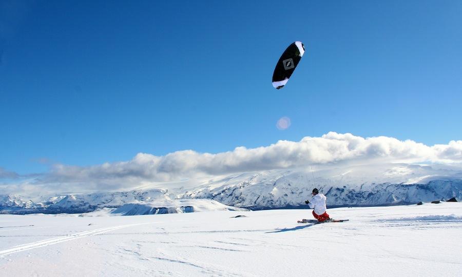 Snow skiing in Iceland (Courtesy Hotel Ranga)