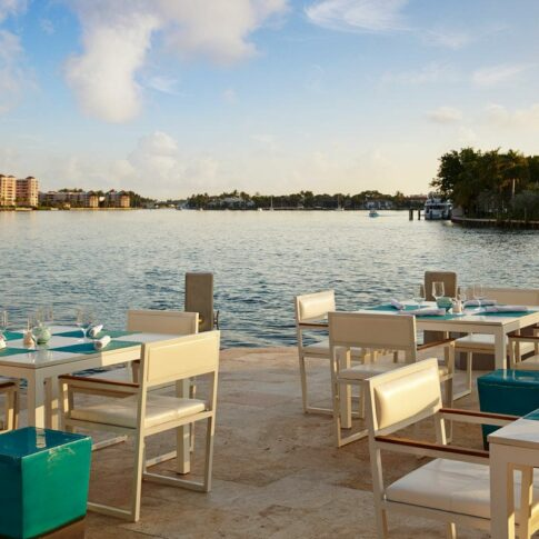 Waterstone Rum Bar & Grill's waterfront views