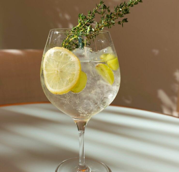 Le Bilboquet's St. Tropez Gin & Tonic