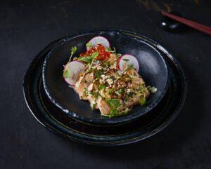 Setai Jaya Miami Spice Salmon Sashimi horizontal min
