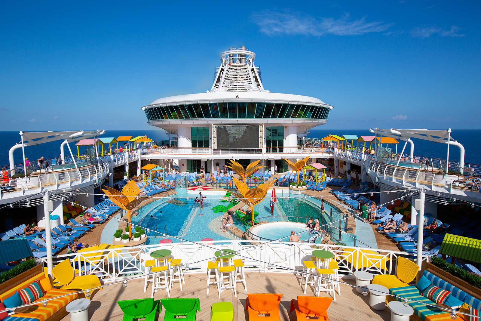 Fun for the whole family aboard the Navigator of the Seas