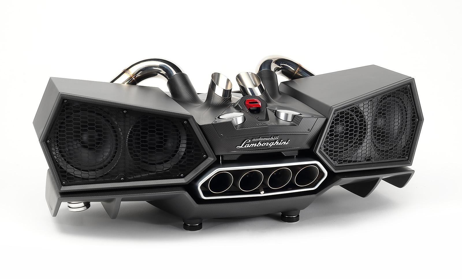 Esavox Carbon Fibre Docking Station Speaker