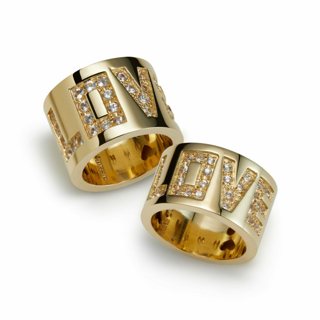 Gold Love Rings scaled scaled