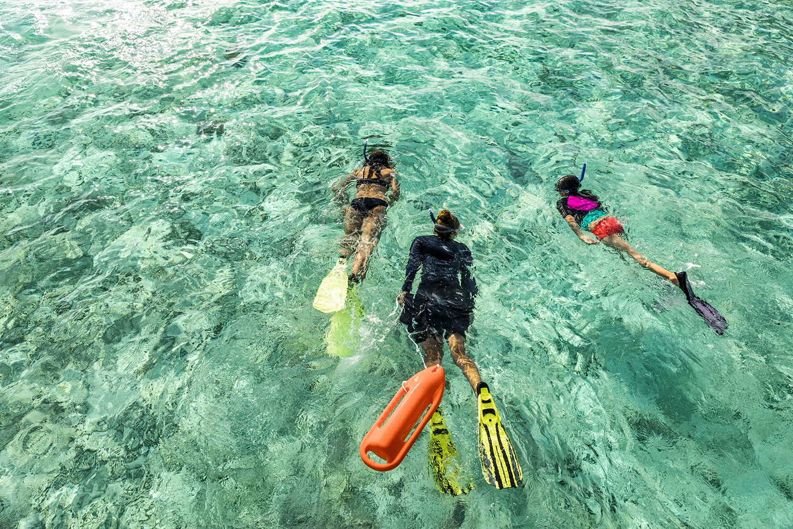 Snorkeling in the Maldives (Courtesy The Ritz-Carlton Maldives, Fari Islands)