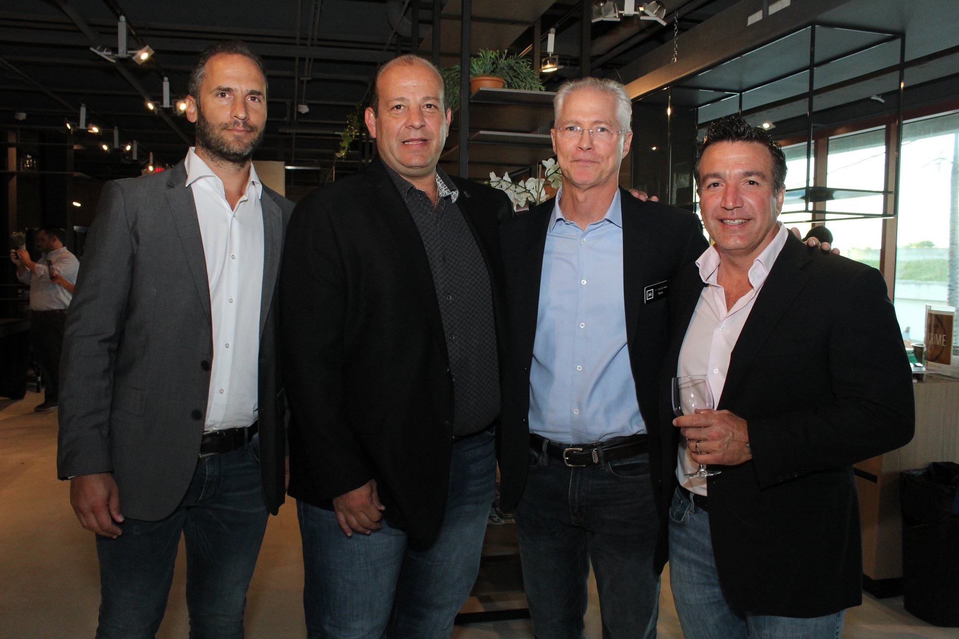 From left, Ariel Wainer, Javier Wainer, Mark Murphy and Reynaldo Rouco