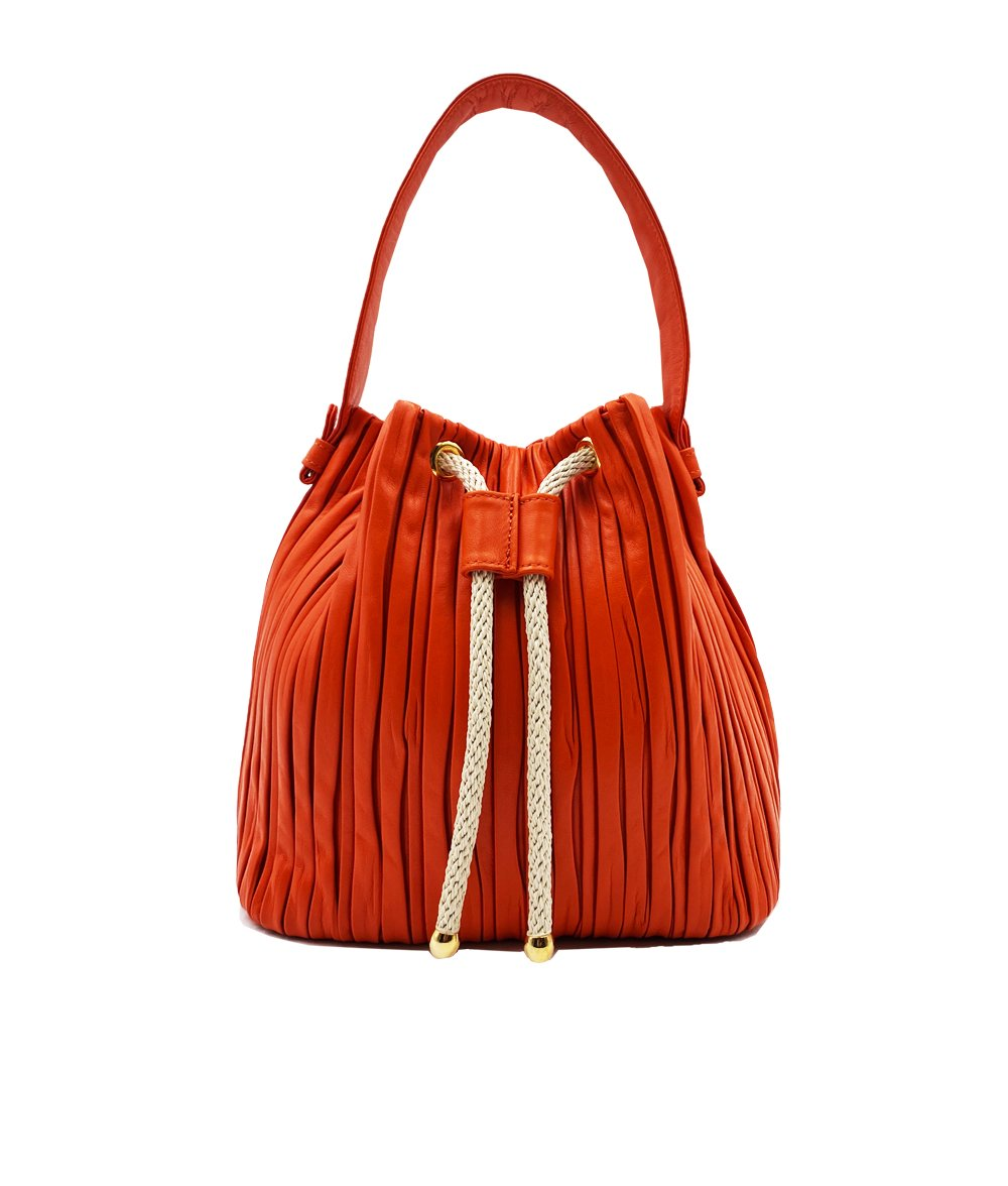 Leather Bucket Bag 4