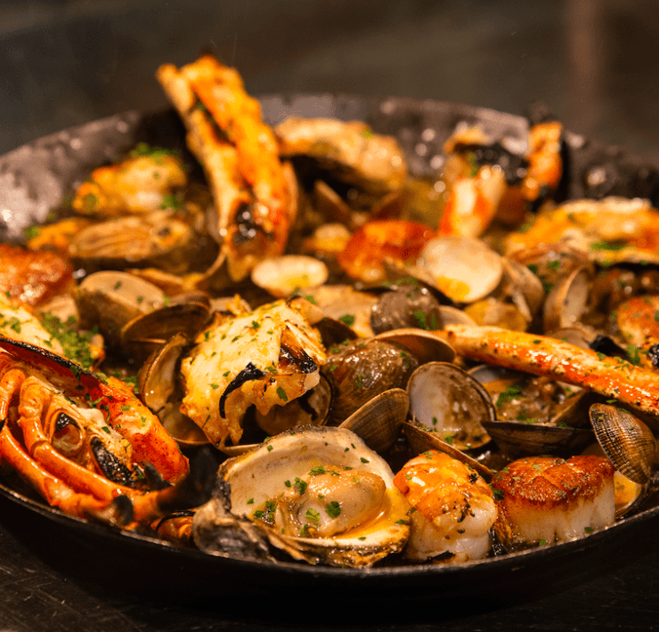 Maple & Ash's Fire-Roasted Pro Seafood Tower