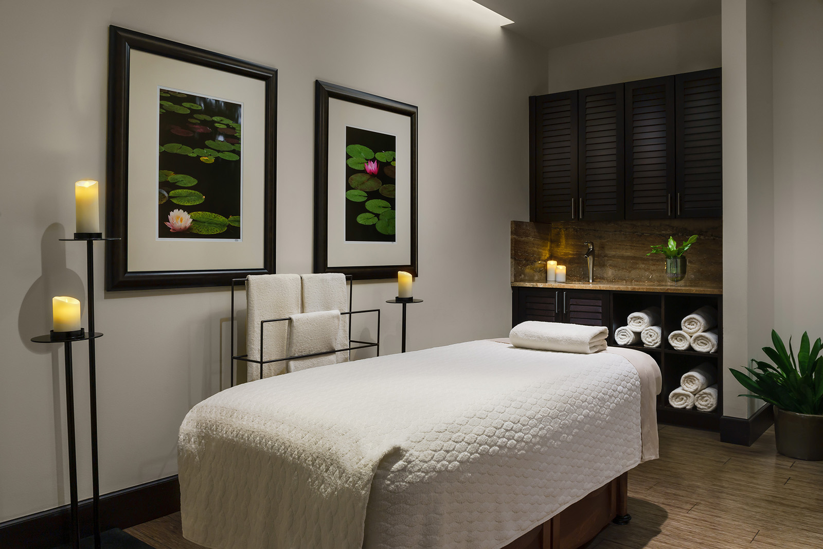 Treatment room at the Seagate Hotel