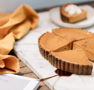 Squash Pie Filling Ingredients: 1. 4 cups roasted butternut squash (weight is final roasted weight) 2. ¼ cup evaporated cane sugar 3. ¼ cup brown sugar 4. 1 tsp. Kosher salt 5. 1 tsp. ground ginger 6. ½ tsp ground allspice 7. 1 tbsp. ground cinnamon 8. ½ tsp. ground nutmeg 9. 1 ¾ cup coconut cream 10. ⅓ cup cornstarch 11. 2 tbsp. brandy Method: 1. Cut squash in half from end to end and remove seeds. Place on parchment paper, cut side down, roast in a 325° oven for 45 to 60 minutes, until squash is tender. Remove skin. This is now the usable product weight. 2. Combine all ingredients in a large plastic container. 3. With an immersion blender, blend until completely smooth. 4. Pour mixture into a pre-set pie shell. 5. Bake at 325°F, low fan, for 22 minutes. Rotate the pan and continue to bake for 22 more minutes. 6. Bake pie until it reaches 175°F internal temperature. Let cool at room temperature for 1 hour. Squash Pie Graham Pie Dough Ingredients: 1. ¾ cup gluten-free flour (Bob's Red Mill) 2. ½ cup buckwheat flour 3. ½ tsp. baking soda 4. 2 tsp. ground cinnamon 5. 1 pinch Kosher salt 6. ½ cup evaporated cane sugar 7. 3 tbsp. coconut oil (melted) 8. ¼ cup water 9. 1 tsp. vanilla bean paste Method: 1. Combine oat flour, buckwheat flour, baking soda, cinnamon, salt and sugar, mix well. 2. Add coconut oil, water and vanilla paste. Mix until dough starts to come together. 3. Scrape sides of bowl and continue mixing until dough is smooth and consistent. 4. Roll between 2 sheets of parchment paper until it's slightly bigger than pie mold. 5. Dust rolling pin with gluten free flour before using to pick up and transfer to pie mold. 6. Lightly brush mold with oil. 7. Press dough into pie mold evenly, then dock dough with a fork. 8. Chill dough for at least 30 minutes before baking. This story is from the Fall 2021 issue. Read the magazine here.